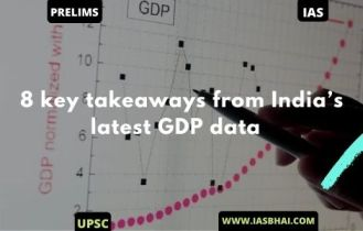 8 key takeaways from India's latest GDP data | UPSC