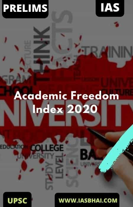 Academic Freedom Index 2020 _ UPSC