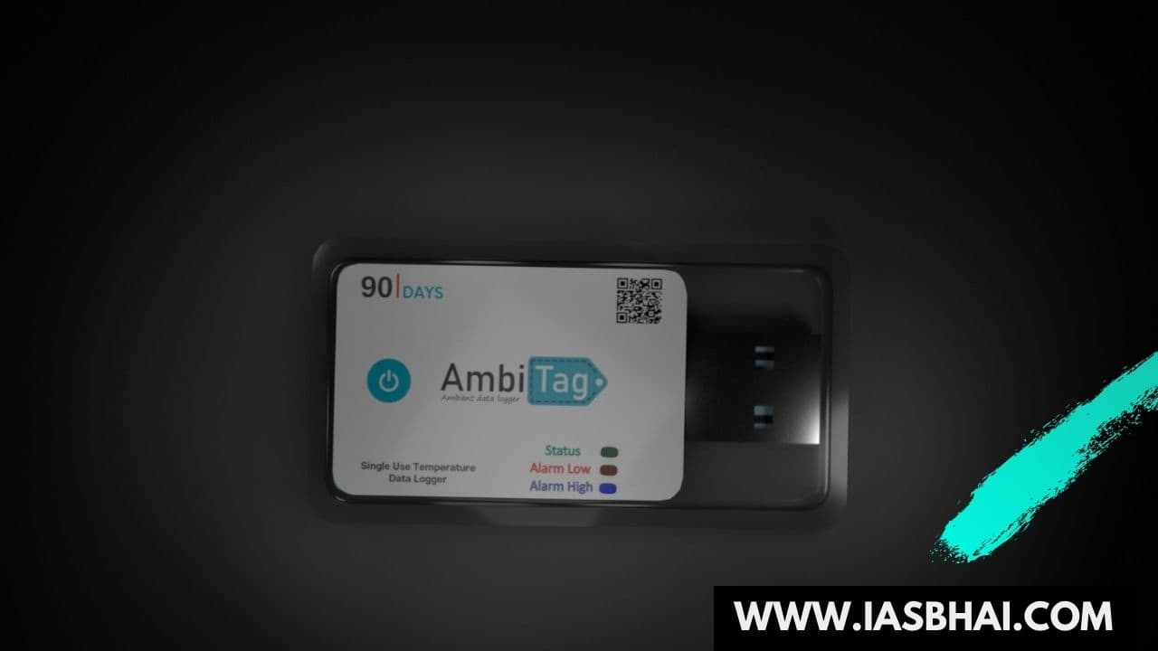 AmbiTAG- India's First Indigenous Temperature Data Logger