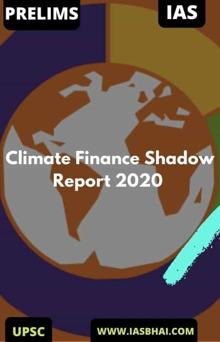 Climate Finance Shadow Report 2020 | UPSC