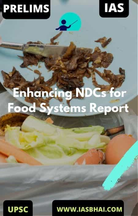 Enhancing NDCs for Food Systems Report | UNEP | IAS