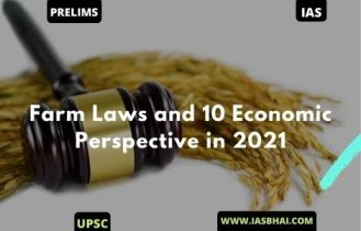 Farm Laws and 10 Economic Perspective in 2021 | UPSC