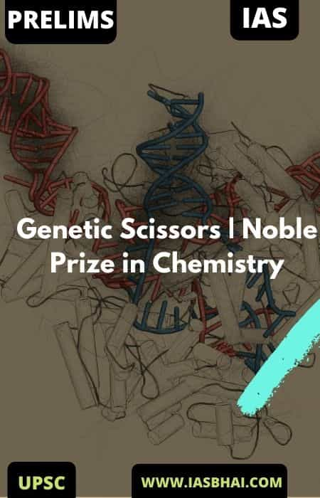 Genetic Scissors | Noble Prize in Chemistry 2020 | UPSC
