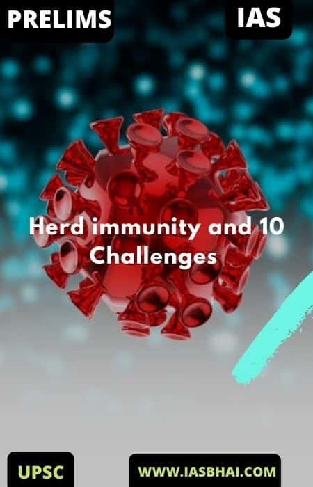 Herd immunity and 10 Challenges | UPSC