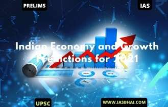 Indian Economy and Growth Predictions for 2021 | UPSC