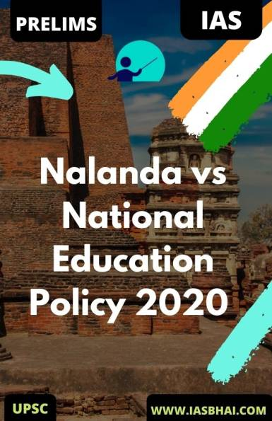 Nalanda vs National Education Policy 2020