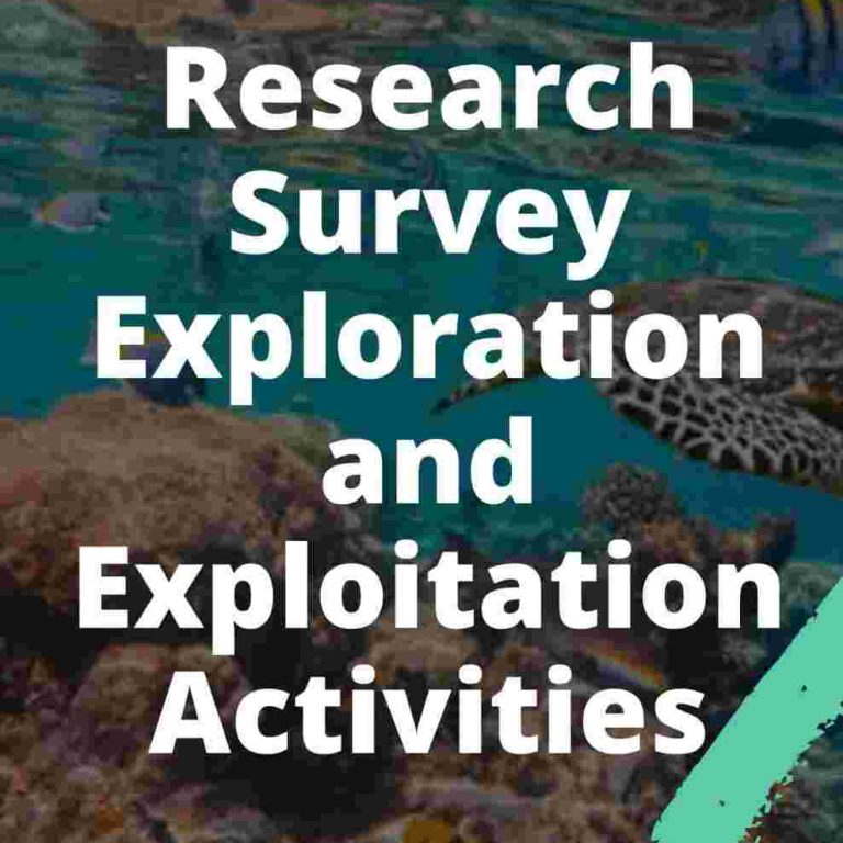 Research Survey Exploration and Exploitation Activities UPSC