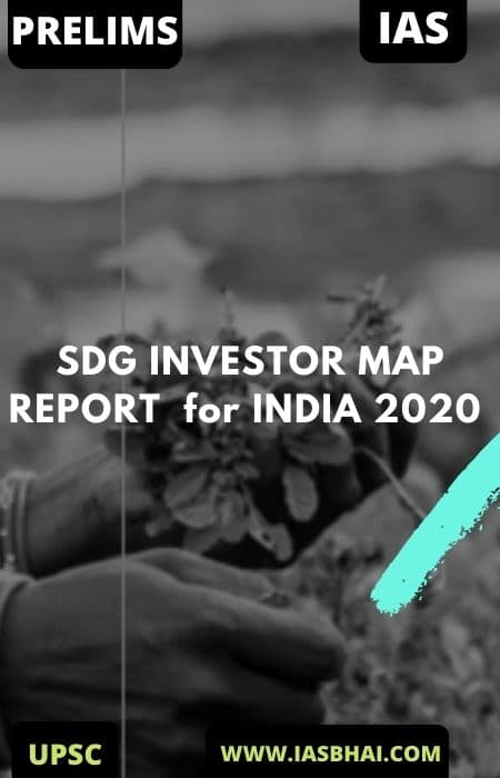 SDG INVESTOR MAP REPORT for INDIA 2020