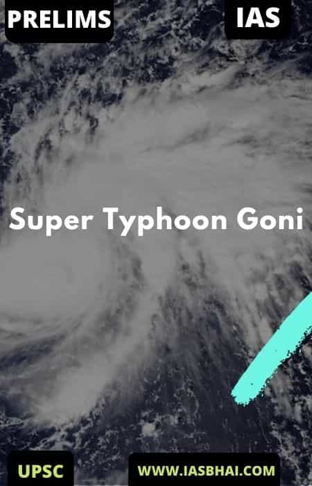 Strongest Storm on Earth in 2020 : Super Typhoon Goni | UPSC
