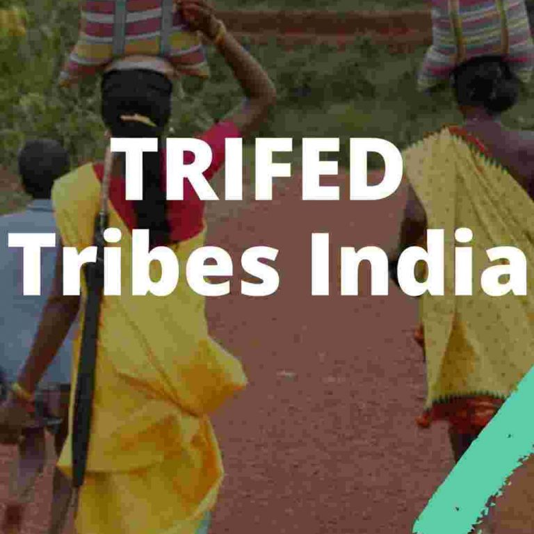 TRIFED Tribes India IAS