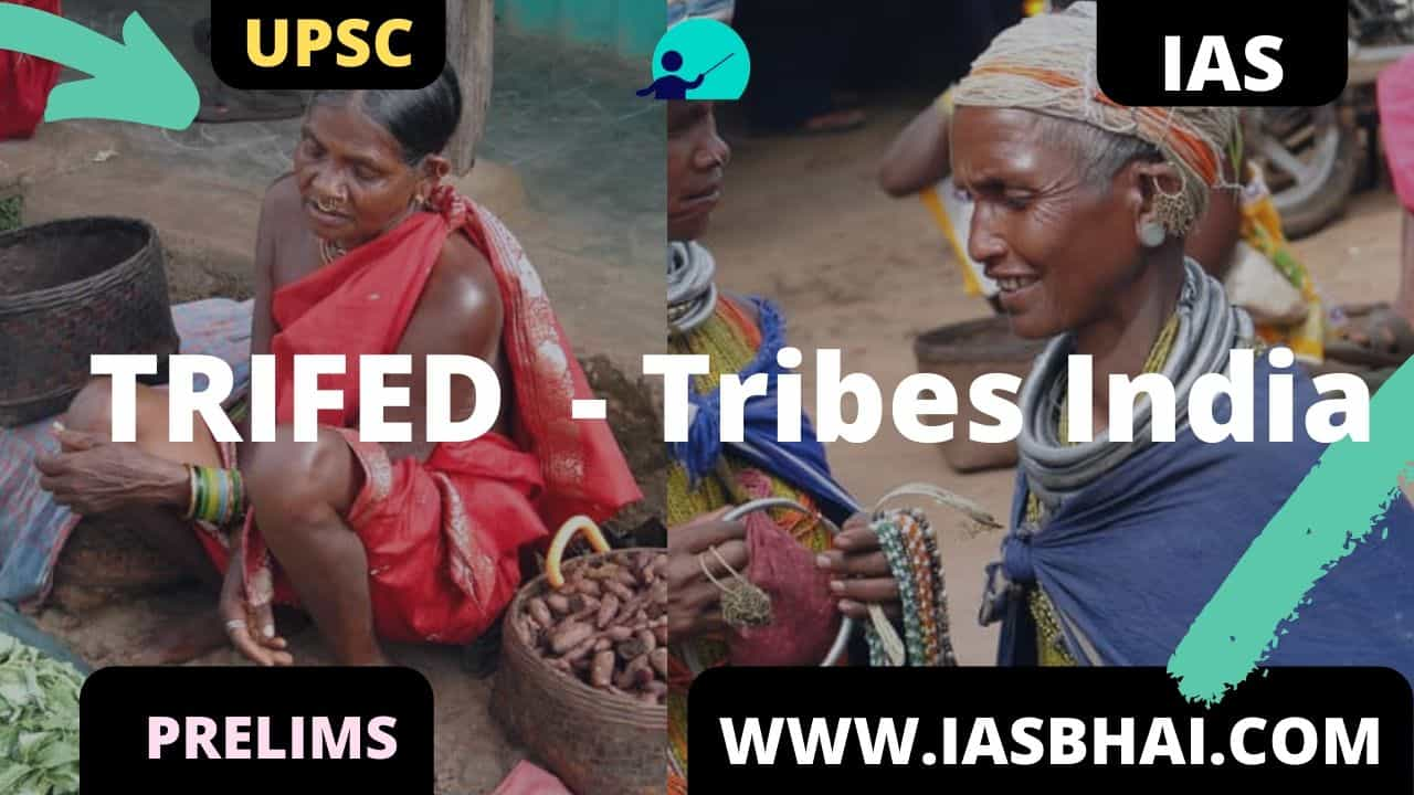 TRIFED Tribes India UPSC
