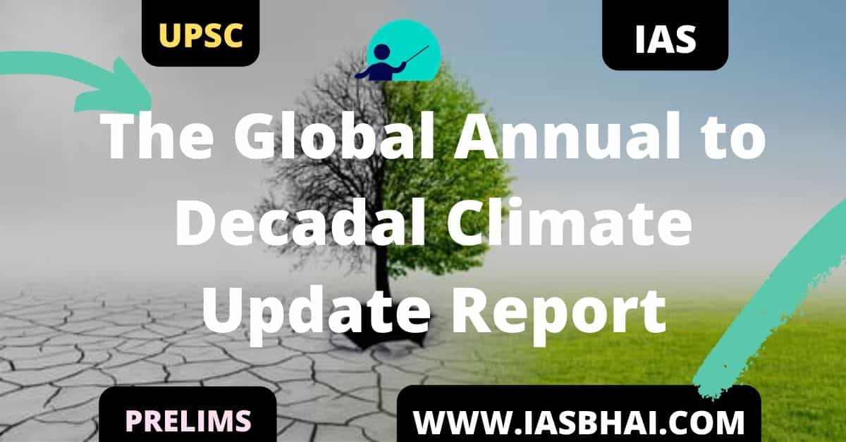 The Global Annual to Decadal Climate Update Report UPSC