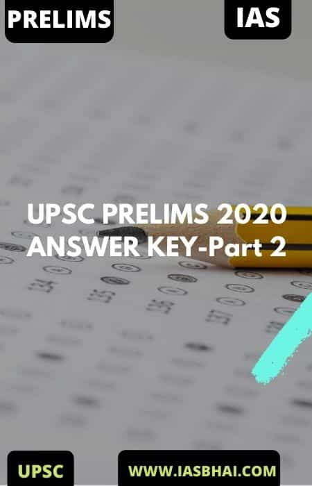 PRELIMS 2020 Answer Key _ Cut-off's _ Analysis _ Part-2