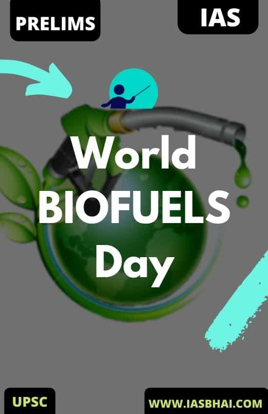 World BIOFUELS Day 2020 UPSC